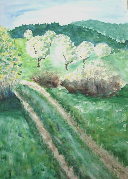 landscape painting image