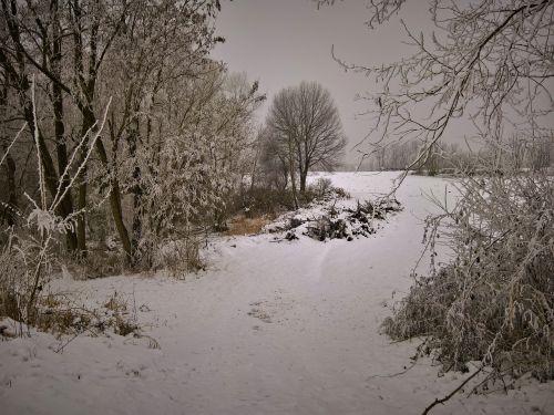 landscape winter memories