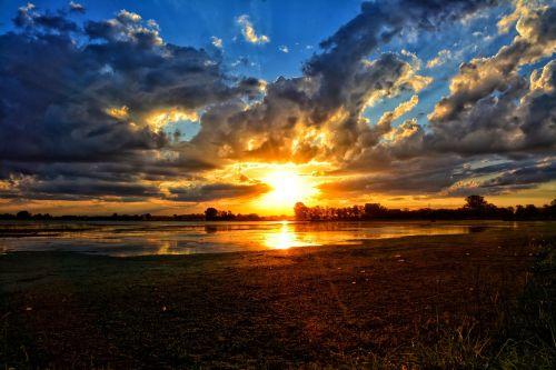 landscape sunset laguna