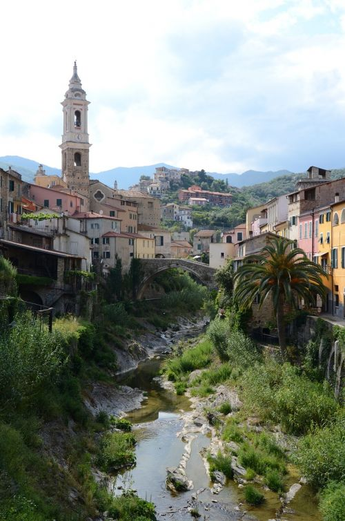 landscape italy liguria