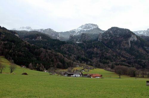 landscape bavaria view