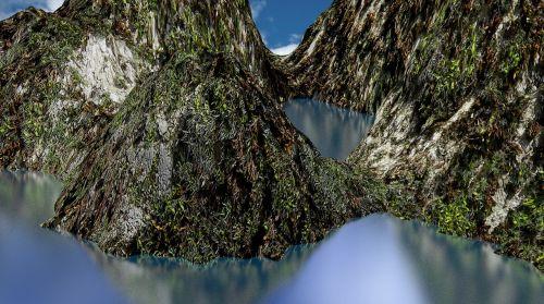 landscape,landscape digital,mountains,hills,nature,mountain landscape,view,water