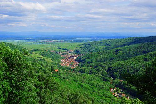 landscape alsace france