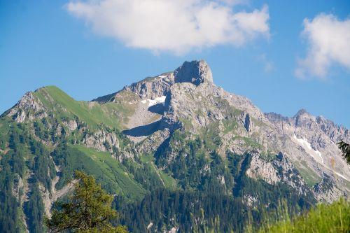 landscape nature mountains