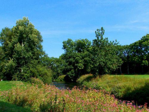 landscape reported river