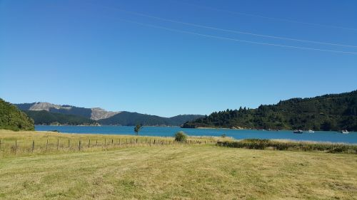 landscape nz marlborough sounds