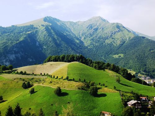 landscape mountain mountains