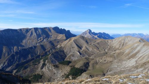 landscape mountain alps