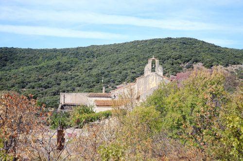 landscape bell tower village
