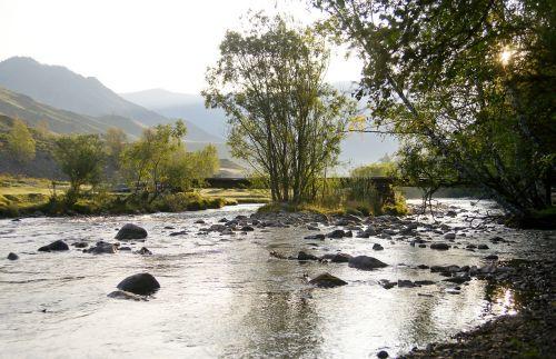 landscape river nature