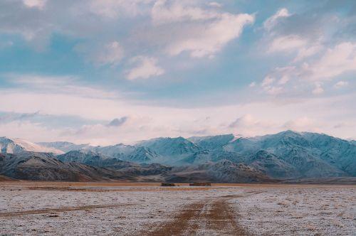 landscape mountain nevado