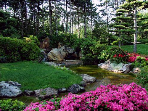 landscape japanese garden ornamental garden