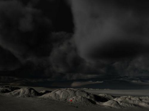 landscape sky dark