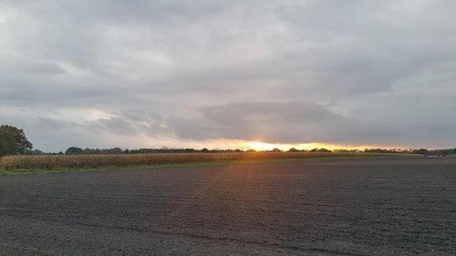 landscape  northern germany