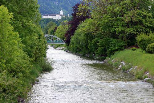 landscape chiemgau river