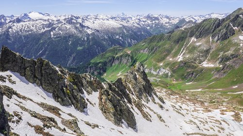 landscape  mountains  alpine