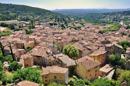 landscape  village  medieval village