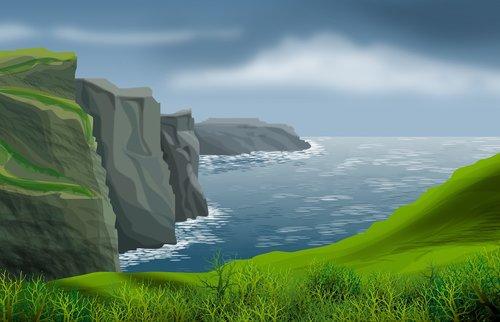 landscape  nature  mar