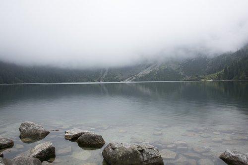 landscape  morskie oko  lake