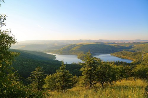 landscape  nature  lake