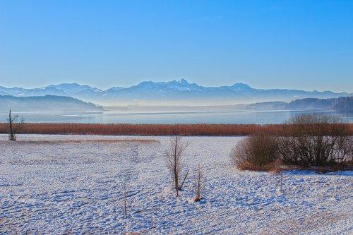 landscape  winter  alpine