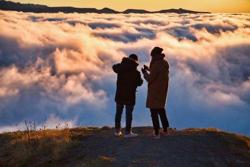 landscape  cloud  mist