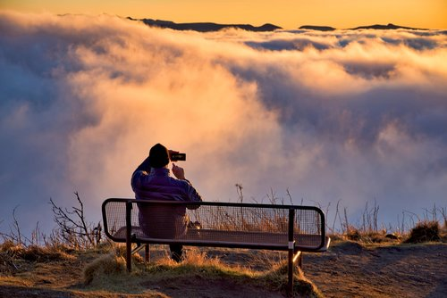 landscape  cloud  fog