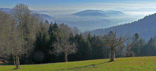 landscape  nature  hill