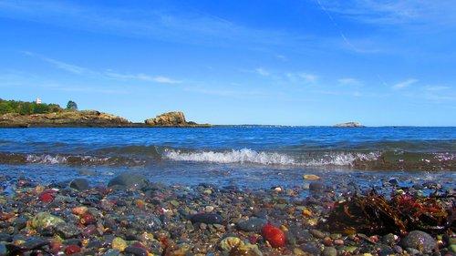 landscape  sea  holiday