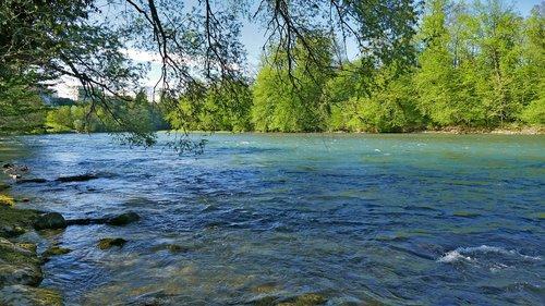 landscape  nature  river