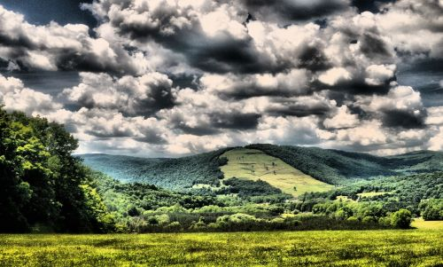 landscape hills scenic