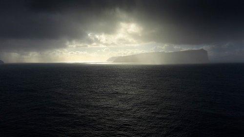 landscape  faroe islands  ocean