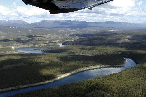 landscape nature aerial