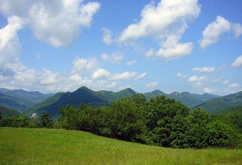 landscape serbia mountain