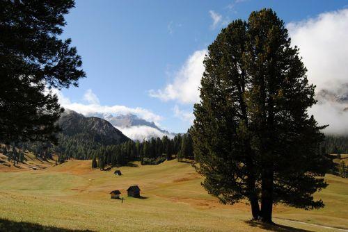 landscape mountain alpine