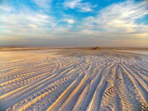 landscape sun desert