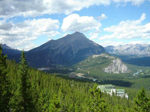 landscape scenic mountains