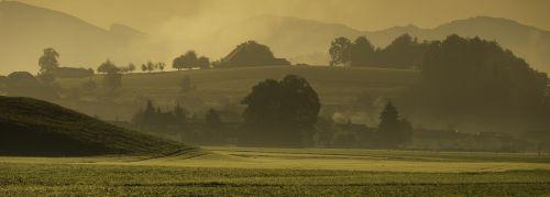 landscape autumn morgenstimmung