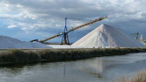 landscape industrial exploitation of salt