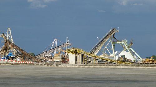 landscape industrial saline