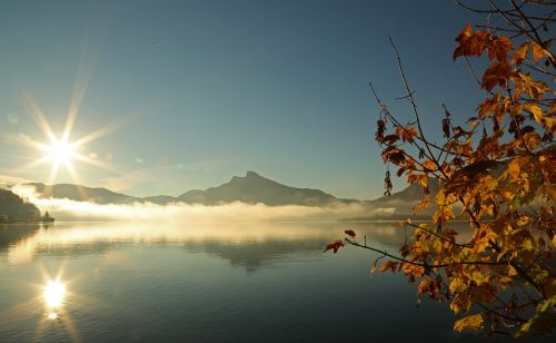 landscape lake nature