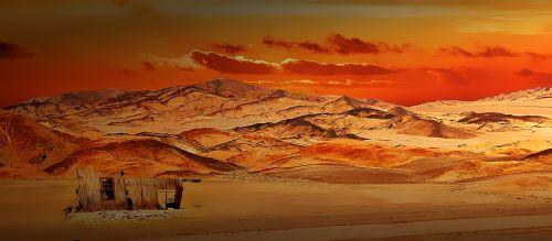 landscape chile mountains