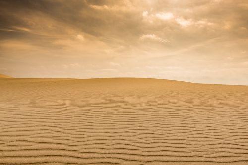 landscape desert nature