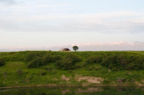 landscape fields meadows