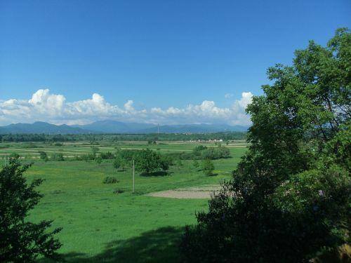 landscape vista green