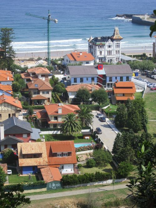 landscape ribadesella asturias