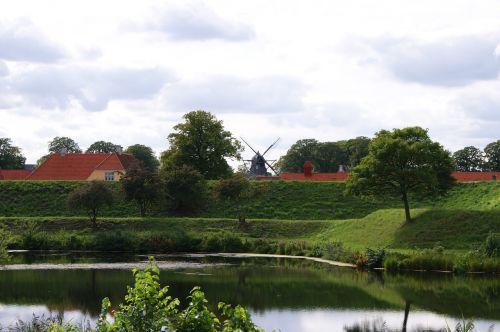 landscape windmill copenhagen