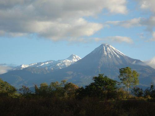 landscape nevado mountains