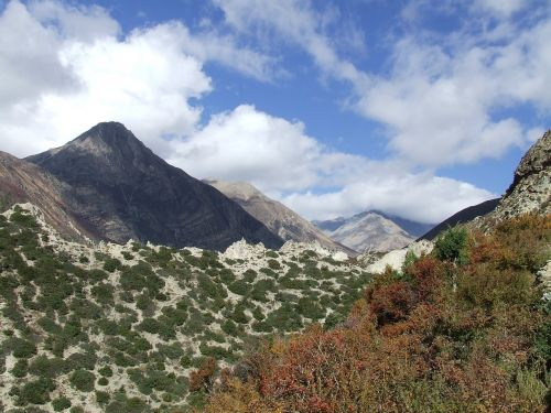 landscape mountains himalayan