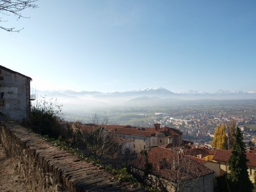 landscape village italy